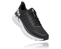 HOKA M CLIFTON 7 WIDE BWHT