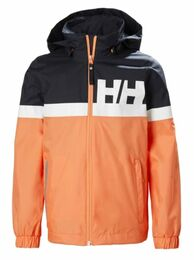 HELLY HANSEN ACTIVE REGNJACKA JR NAVY/MELON