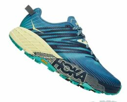 HOKA SPEEDGOAT 4 WOMEN BLUE/GREEN