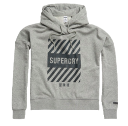 SUPERDRY CORE SPORT CROP HOOD