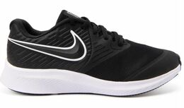 NIKE STAR RUNNER 2 GS BLACK/WHITE